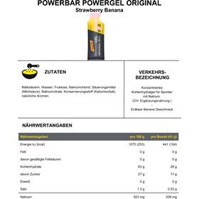 PowerBar PowerGel Original Caja 24 x 41g, Strawberry-Banana